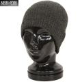 New York Hat �˥塼�衼���ϥå� 4740 BRUSHED BEANIE �֥�å���� �ӡ��ˡ���GREY