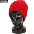 New York Hat �˥塼�衼���ϥå� 4740 BRUSHED BEANIE �֥�å���� �ӡ��ˡ���RED