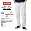 ☆創業祭☆20%OFF☆EDWIN エドウィン 503ST KEEP WHITE ストレートデニム