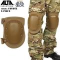 ALTA アルタ FLEX タクティカルニーパッド AltaLok COYOTE【50413.14】