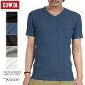 EDWIN ���ɥ����� �ǥ�������� ���㥬���� 57188 ���㥬���� RIB V-NECK T�����5��