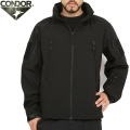 CONDOR ����ɥ� 609 SUMMIT ZERO SOFT SHELL JACKET �����ƥ����� ���եȥ����른�㥱�å� BLACK