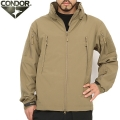 CONDOR ����ɥ� 609 SUMMIT ZERO SOFT SHELL JACKET �����ƥ����� ���եȥ����른�㥱�å� TAN