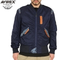 AVIREX ���ӥ�å��� TYPE BLUE 6132106 REMAKE L-2 �ե饤�ȥ��㥱�å� ROYAL BLUE