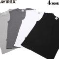 AVIREX アビレックス デイリーウエア スリーブレスTシャツ 4色 (ノースリーブ)