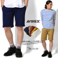 AVIREX アビレックス デイリーウェア 6146052 プレーン ショートパンツ6色