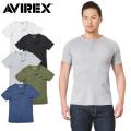 AVIREX アビレックス デイリーウエア 6173314 S/S サーマル ヘンリーネック Tシャツ