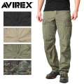 AVIREX アビレックス 6176084 コットン リップストップ ファティーグパンツ