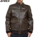 AVIREX ���ӥ�å��� 6181010 BASIC A-2�쥶���ե饤�ȥ��㥱�å�