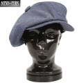 New York Hat ニューヨークハット 6210 シャンブレー ビッグアップル Navy