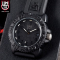 LUMINOX ��ߥΥå��� 7051 BLACKOUT NAVY SEALs COLOR MARK SERIES �ӻ���