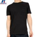 RUSSELL ラッセル CLASSIC SOLID ポケット H/S Tシャツ ブラック