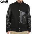 Schott ����å� 767US D-PKT VARSITY���㥱�å� BLACK��7321��