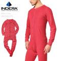 INDERA MILLS インデラミルズ 865US UNIONSUITS ユニオンスーツ RED