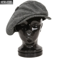 New York Hat �˥塼�衼���ϥå� 9059 HERRINGBONE BIG APPLE �إ��ܥ�ӥå����åץ� GREY