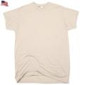 【訳あり】★クーポン対象外★実物 新品 米軍ACU・ABU用最新SAND BEIGE TシャツS