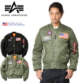ALPHA USA アルファ 日本未発売 MA-1 FLEX SLIM フライトジャケット