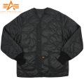 ALPHA アルファ M-65 フィールドジャケット用ライナー ブラック【2065-001】
