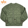 ALPHA アルファ M-65 フィールドジャケット用ライナー OD【2065-021】