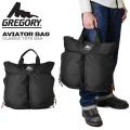 GREGORY ���쥴�  AVIATOR BAG(���ӥ��������Хå�) �ȡ��ȥХå� �֥�å�