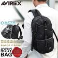 AVIREX アビレックス  EAGLE ボディバッグ ワンショルダーバッグ ブラックカモ(BLACK&GRAY) AVX305LC