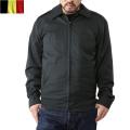 実物 新品 ベルギー軍キルティングライナー付き ジャケット DARK OLIVE