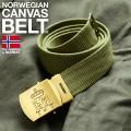 実物 新品ノルウェー軍 キャンバスベルト #2