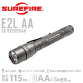 �ڥ����ڡ����оݳ���SUREFIRE ���奢�ե����� E2L AA OUTDOORSMAN Dual-Output LED�ե�å���饤�� ��E2LAA-A��