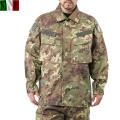 実物 新品 イタリア陸軍BDU コンバットジャケット ウッドランドフレック迷彩