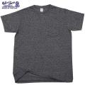 Velva Sheen ベルバシーン1PAC S/S MOCK TWIST クルーネックTシャツ BLACK