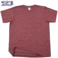 Velva Sheen ベルバシーン1PAC S/S MOCK TWIST クルーネックTシャツ BURGUNDY