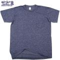Velva Sheen ベルバシーン1PAC S/S MOCK TWIST クルーネックTシャツ NAVY
