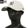 NEW ERA ニューエラ 9TWENTY Classic リネン ニューヨーク・ヤンキース ベージュ【N0014478】□