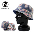 NEWHATTAN ニューハッタン Reversible Bucket Hat #1503