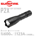 �ڥ����ڡ����оݳ���SUREFIRE ���奢�ե����� P2X FURY DEFENDER Single-Output LED�ե�å���饤�� ��P2XD-A-BK��