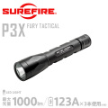 �ڥ����ڡ����оݳ���SUREFIRE ���奢�ե����� P3X FURY TACTICAL Ultra-High Single-Output LED�ե�å���饤�� ��P3X-A-BK��