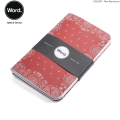 WORD NOTEBOOKS ワード ノートブックス 3Pノート Red Bandana