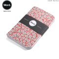 WORD NOTEBOOKS ワード ノートブックス 3Pノート Red Floral