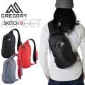 【キャンペーン対象外】GREGORY グレゴリー SKETCH(スケッチ)8 スリングパック 3色【2015SSカラー】