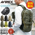 AVIREX アビレックス EAGLE ボディバッグ ワンショルダーバッグ AVX305 (6139111)6色