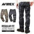AVIREX ���ӥ�å��� 6166113 AERO PANTS ������ �������ѥ�� CAMOUFLAGE �쥮��顼�ե��å�