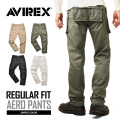 AVIREX ���ӥ�å��� 6166112 AERO PANTS ������ �������ѥ�� �쥮��顼�ե��å�