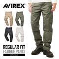 AVIREX ���ӥ�å��� 6166110 FATIGUE PANTS �ե��ƥ����� �������ѥ�� �쥮��顼�ե��å�