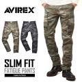 AVIREX ���ӥ�å��� 6166123 FATIGUE PANTS �ե��ƥ����� �������ѥ�� CAMOUFLAGE �����ե��å�