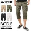 AVIREX ���ӥ�å��� 6166114 FATIGUE CROPPED PANTS �ե��ƥ����� ����åץɥѥ��