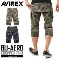 AVIREX ���ӥ�å��� 6166117 BU-AERO CROPPED PANTS ������ ����åץɥѥ�� CAMOUFLAGE