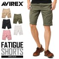AVIREX ���ӥ�å��� 6166118 FATIGUE SHORTS �ե��ƥ����� ���硼�ȥѥ��