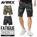 AVIREX ���ӥ�å��� 6166119 FATIGUE SHORTS �ե��ƥ����� ���硼�ȥѥ�� CAMOUFLAGE
