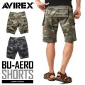 AVIREX ���ӥ�å��� 6166121 BU-AERO SHORTS ������ ���硼�ȥѥ�� CAMOUFLAGE
