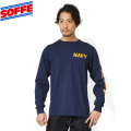 SOFFE ソフィー D0001116 Long Sleeve NAVY Tシャツ
